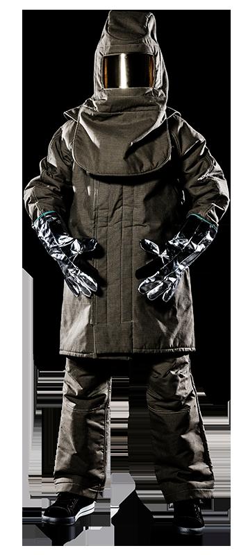 aluminized clothing heatbeater